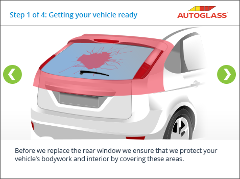 Replacing a rear window autoglass uk for How much does it cost to fix a window motor