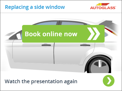 Book online for a side window glass replacement